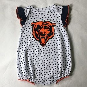 Chicago Bears outfit size 3 6 months baby girls